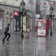 Topla kiša, pa LEDENI PREOKRET: Sledeće nedelje temperatura pada za čak 17 stepeni, svakim danom SVE HLADNIJE