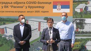 Toplički centar za demokratiju i ljudska prava traži od Vlade informacije o izgradnji kovid bolnica