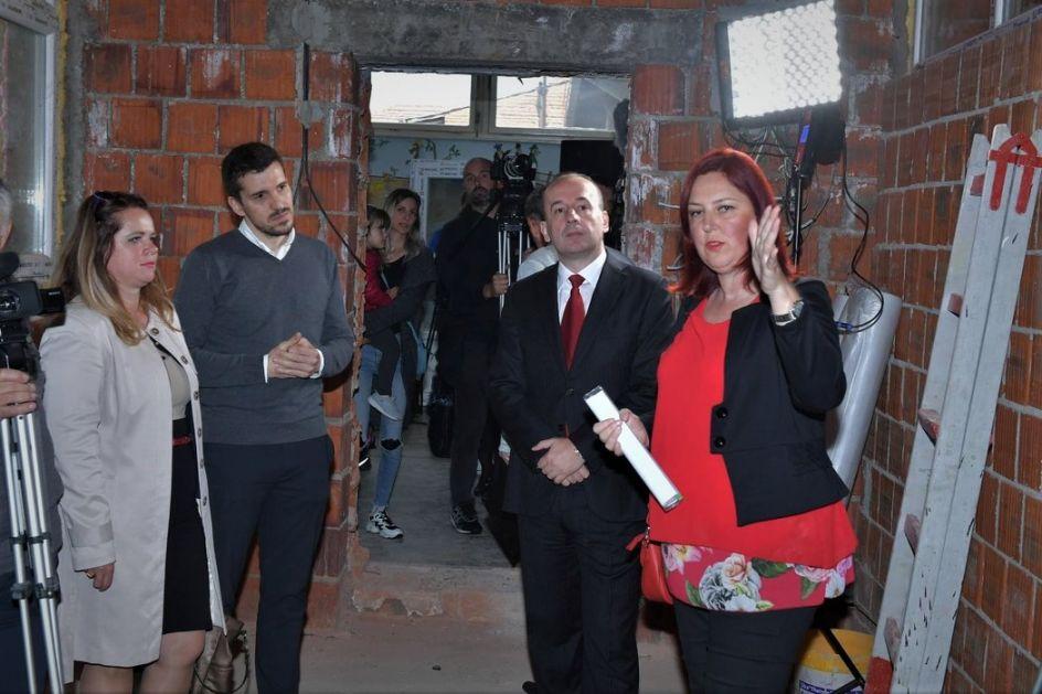 Topola: Započeli radovi na proširenju PU Sofija Ristić