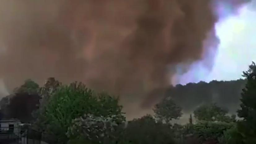 Tornado u Nemačkoj, ima povređenih (VIDEO)