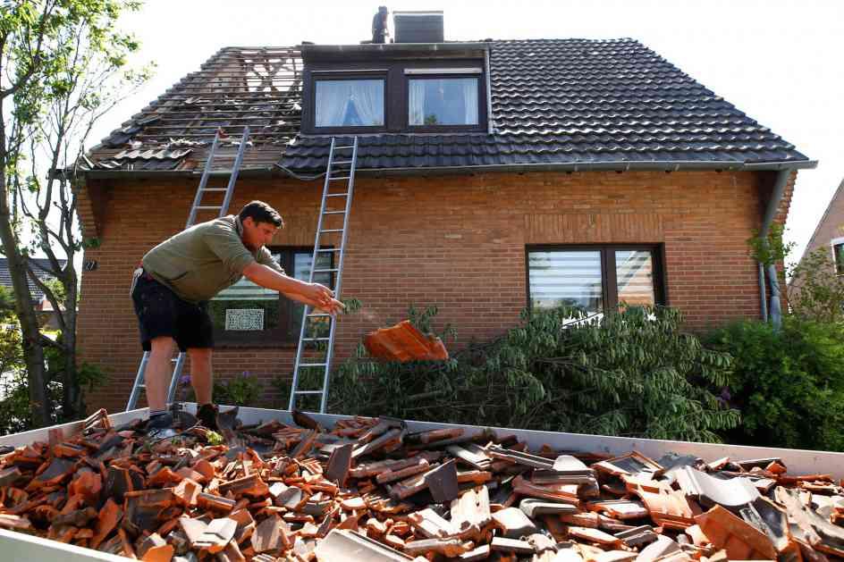 Tornado u Nemačkoj odneo više od 40 krovova