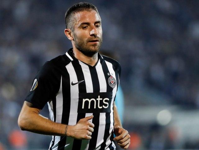 Tošić: Partizan mi je na drugom mestu