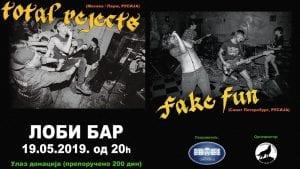 Total Rejects i Fake Fun nastupaju u nedelju u Svilajncu