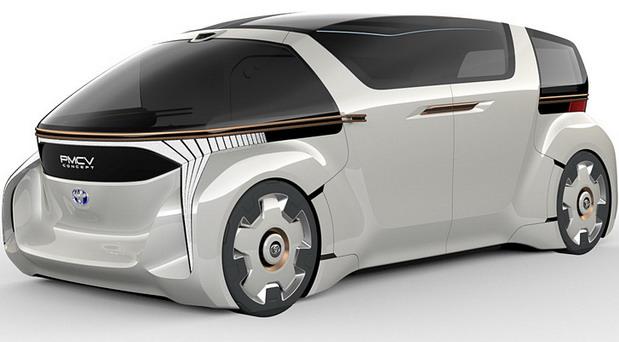 Toyota PMCV Concept i Toyota GranAce