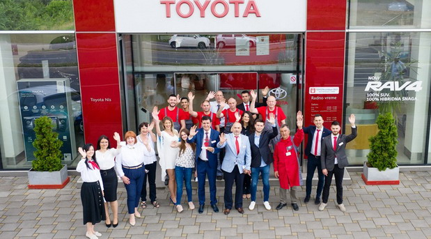 Toyota nagrađuje najbolje partnere u Evropi