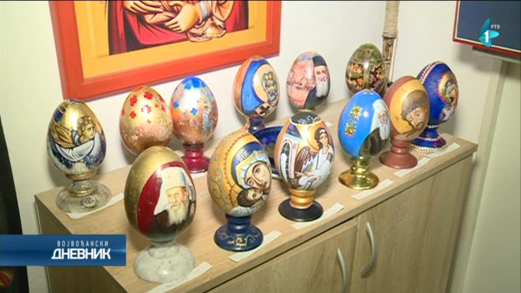 Tradicionalna aukcija oslikanih uskršnjih jaja na Novom naselju
