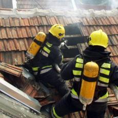 Tragedija u Užicu: Izgorela kuća, muškarac pronađen mrtav