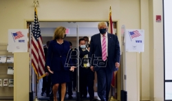 Tramp glasao unapred na predsedničkim izborima