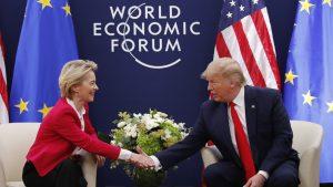 Tramp i fon der Lajen ocenili razgovor u Davosu kao dobar