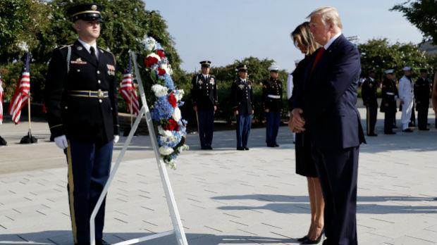Tramp na obeležavanju godišnjice napada na kule bliznakinje i Pentagon