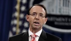 Tramp ne planira da smeni zamenika ministra pravde SAD Rozenštajna