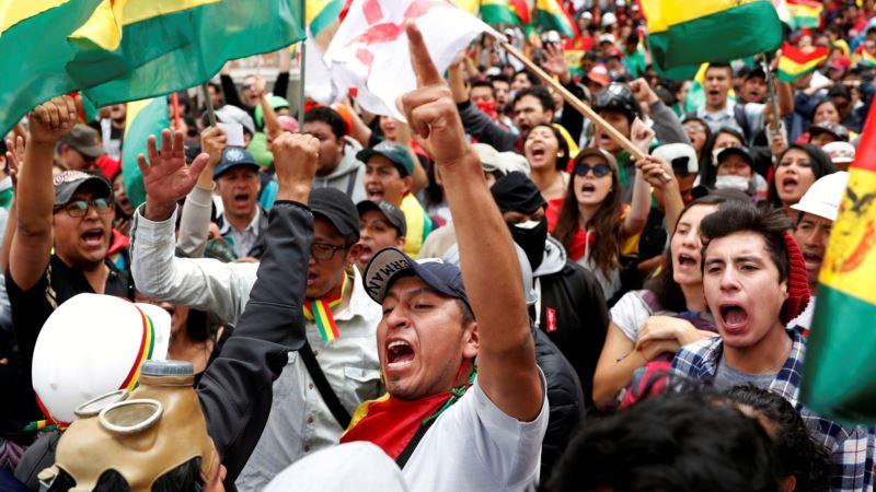 Tramp pozdravio ostavku Moralesa