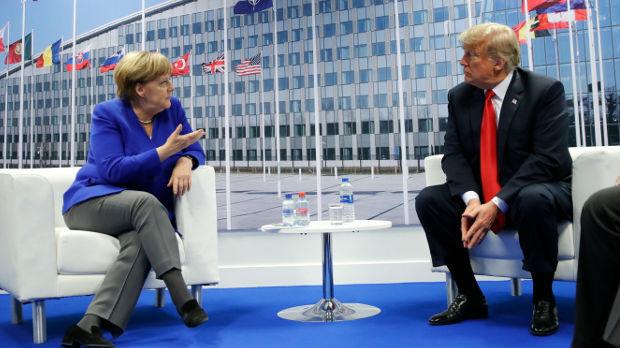 Tramp se sastao sa Merkelovom, sastanak opisao kao sjajan