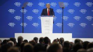 Tramp u davosu: Amerika cveta