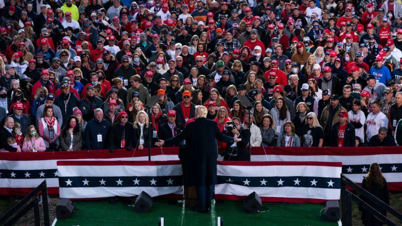 Tramp u intenzivnoj kampanji u nekoliko država, Bajden fokusiran na Pensilvaniju
