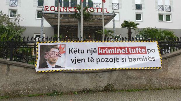 Transparent protiv dolaska Vučića u Tiranu