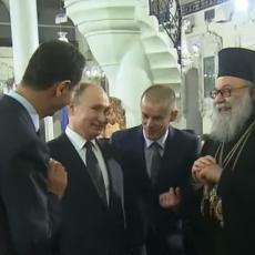 Trebalo bi da ide koracima apostola Pavla Putin i Asad zbijaju šale na TRAMPOV RAČUN (VIDEO)