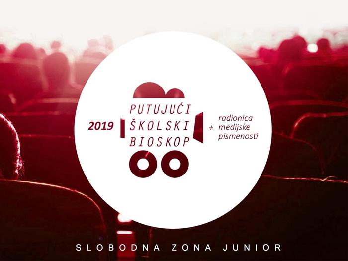 Treće izdanje Putujućeg školskog bioskopa Slobodna Zona Junior u 10 opština u Srbiji