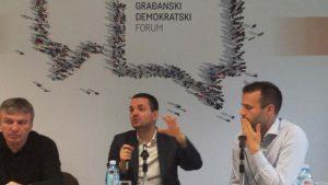 Tribina o uzbunjivačima Građanskog demokratskog foruma