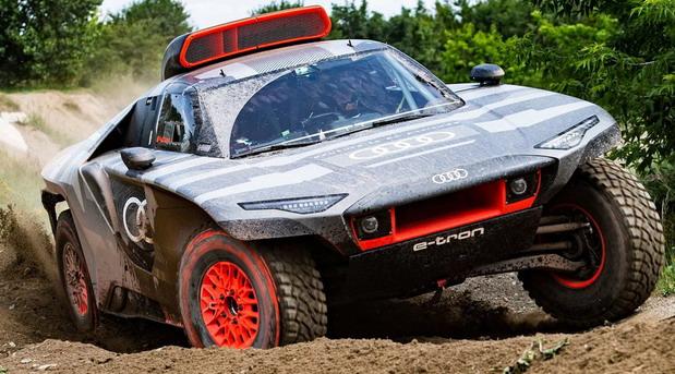 Trkački Audi RS Q E-Tron