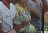 Trudna Jelena Đoković bodri Novaka sa tribina (FOTO)