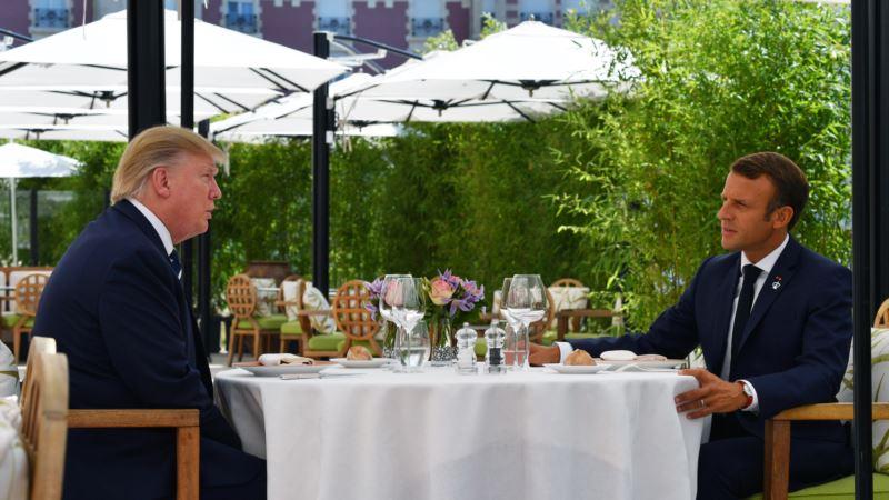 Trump i Macron se sastali prije početka samita
