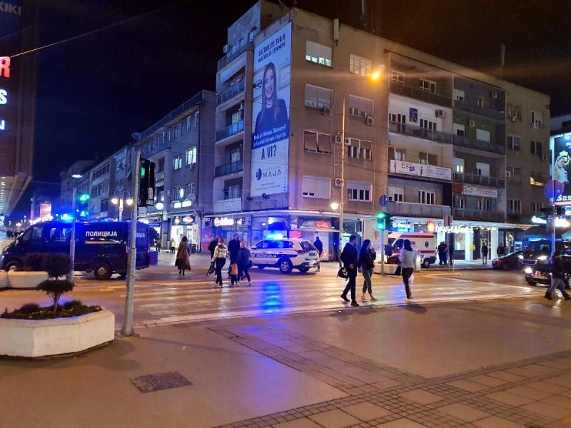 Tuča u centru Niša, pretučena ženska osoba prebačena u Urgentni centar