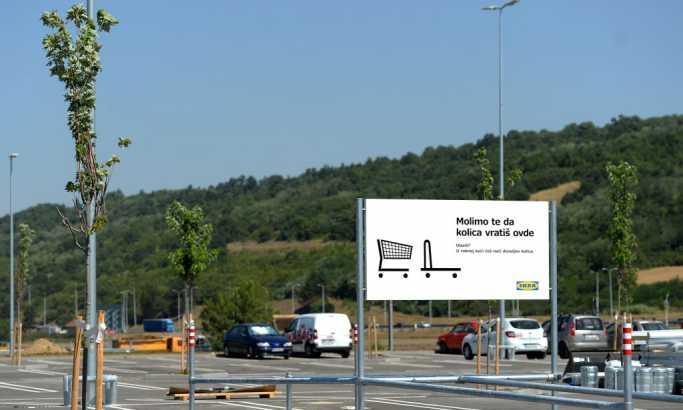 Turci bi akva park kod Bubanj Potoka, a Ikea...