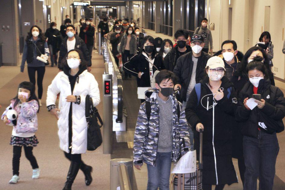 Turisti sa Tajvana nosili natpis nismo iz Kine