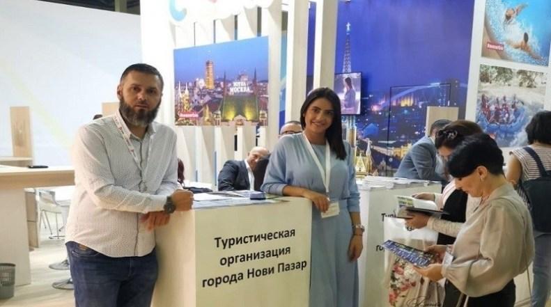 Turistička organizacija Novi Pazar na Sajmu turizma u Moskvi