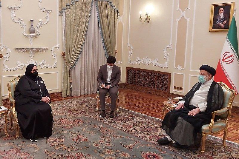 Turković se u Teheranu sastala s novoizabranim predsjednikom Irana Raisijem