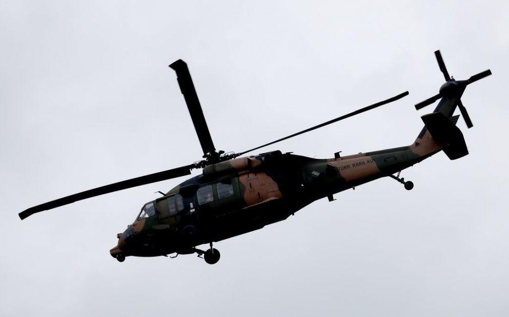 Turska: U padu vojnog helikoptera poginulo 11 osoba