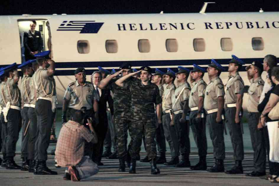 Turska iznenada oslobodila dvojicu grčkih vojnika