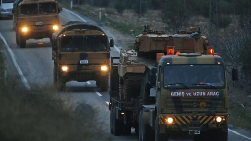 Turska vojska napada kurdske snage u Afrinu