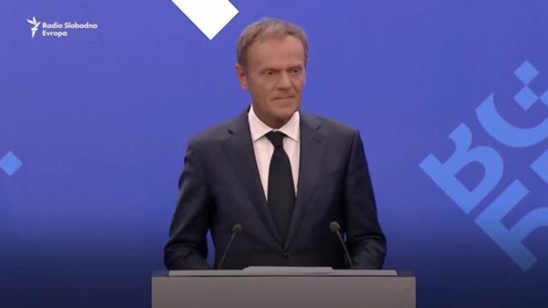 Tusk: Integracija Zapadnog Balkana prioritet EU