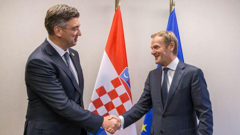Tusk i Plenković za deblokadu pregovora S.Makedonije i Albanije