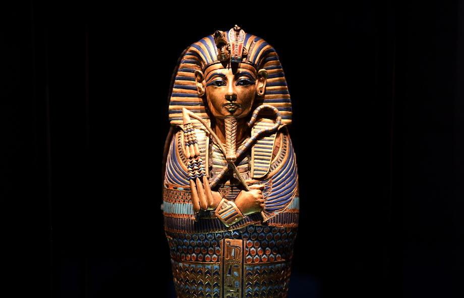 Tutankamonovo blago na izložbi u Londonu