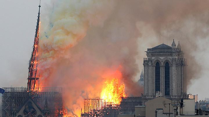 Tužba zbog isparenja olova u požaru katedrale Notr Dam