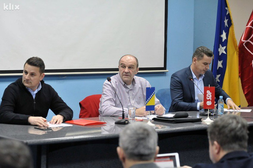 Tuzlanski SDP donio jednoglasnu odluku: Trebamo ići u vlast na svim nivoima u BiH