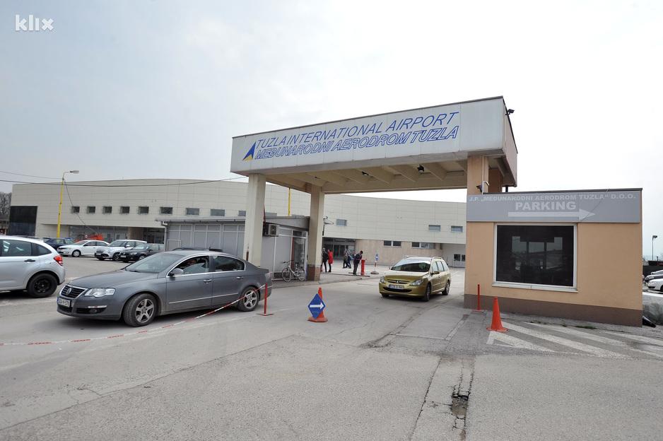 Tuzlanski aerodrom u junu i julu prometniji od sarajevskog
