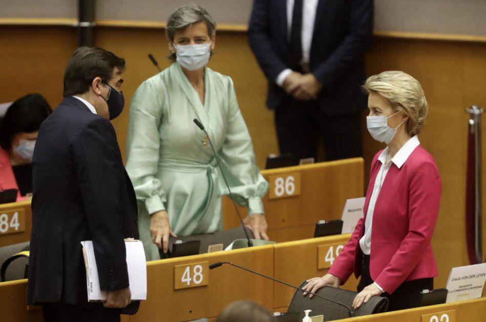 U BRISELU SE LOME KOPLJA ZA 1.000 MILIJARDI EVRA: EU ne šteti na borbi protiv krize zbog korone