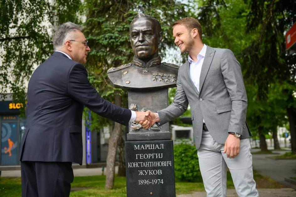U Banjaluci svečano otkrivena bista maršalu Georgiju Žukovu
