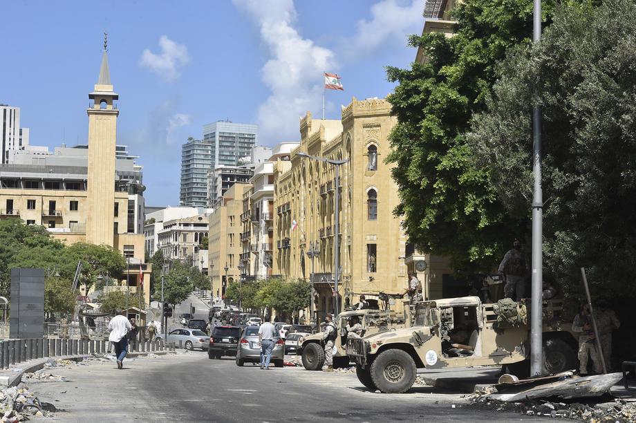U Bejrutu i danas protesti