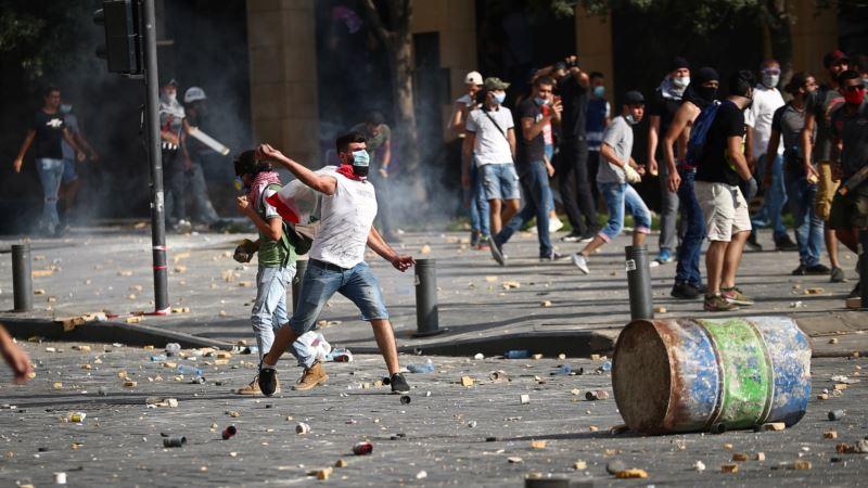 Protest u Bejrutu, premijer Libana najavio da će predložiti prevremene izbore