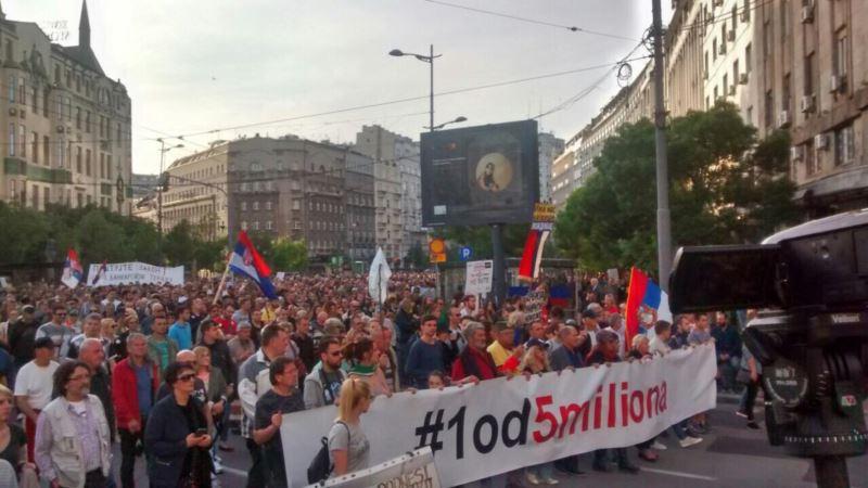 34. protest Jedan od pet miliona: Učešće na izborima samo ako budu fer