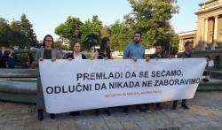 U Beogradu Inicijativa mladih obeležila godišnjicu genocida u Srebrenici, prisustvovali ambasadori