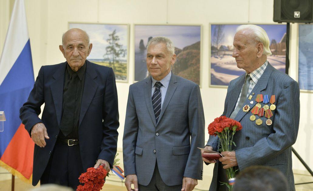 U Beogradu obeležen Dan Rusije, medalje veteranima i deci sa KiM