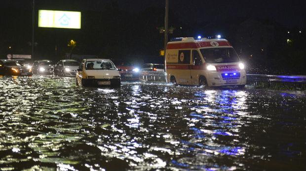 Kako izgleda Beograd posle nevremena