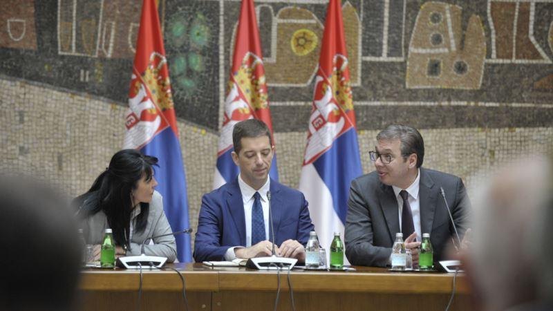 Vučić: O kontramerama Prištini posle sastanka u Parizu