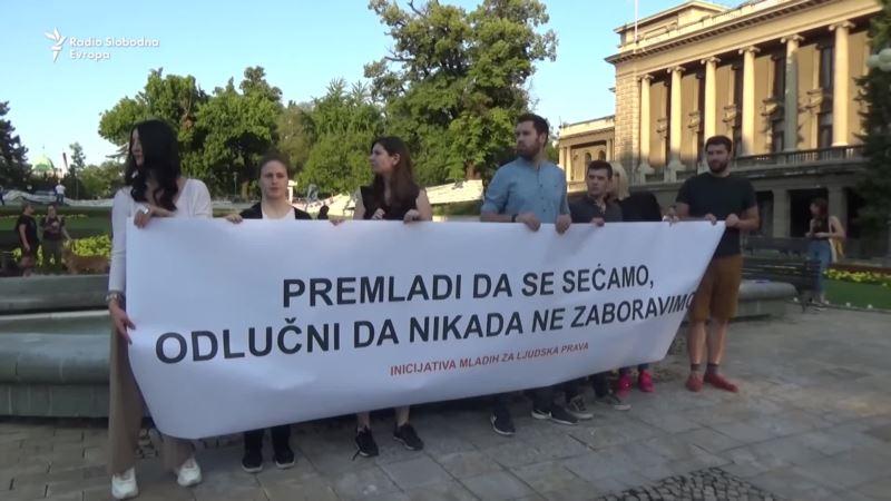 U Beogradu sveće za srebreničke žrtve